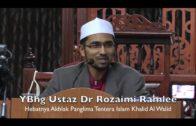 Dr Rozaimi Ramle – Hebatnya Akhlak Tentera Islam Khalid Al Walid