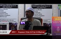 SIRI 1 || Al-Fiqh Al- Manhaji || DR ROZAIMI RAMLE