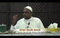 29-07-2013 : Ustaz Halim Hasan [Tuduhan Dusta Ke Atas Mukmin Membawa Ke Neraka]
