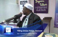 13-10-2012 USTAZ HALIM HASSAN Tajuk : Contohilah Para Sahabat Nabi S.A.W