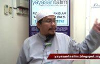 Yayasan Ta'lim: Kelas Hadith Sahih Muslim [02-11-16]