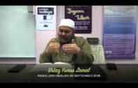 Yayasan Ta'lim: Kelas Rasul & Risalah [30-09-14]