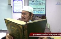 Yayasan Ta'lim: Kelas Sahih Muslim [28-08-16]