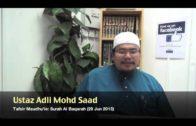 Yayasan Ta'lim: Tafsir Maudhu'ie [29-06-13] (Surah Al Baqarah)