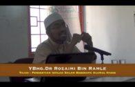 01-04-2015 Ustaz Dr Rozaimi Ramle – Pengertian Istilah Dalam Beberapa Ulumul Hadis
