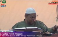 05-10-2017 YBhg Ustaz Halim Hassan    Bolehkah Wanita Haid & Junub Masuk KeDalam Masjid