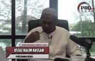 08-08-2016 Ustaz Halim Hassan: