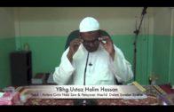 12-01-12014 USTAZ HALIM HASSAN Tajuk : Cinta Nabi Saw & Perayaan Maulid