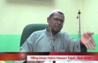 12-08-2012 USTAZ HALIM HASSAN Part 2 Tajuk : Perselisihan Bani Qananah Tentang Solat Witir