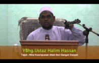 12-12-2013 USTAZ HALIM HASSAN Tajuk : Nilai Keampunan Allah Swt Sangat Dasyat