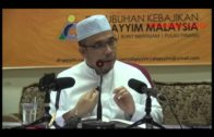 13-02-2014 Dr. Asri Zainul Abidin: Pasar Tempat Merebaknya Syaitan