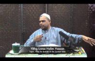 13-10-2013 ; USTAZ HALIM HASAN [Nilai As Sunnah Di Sisi Syariat Islam]