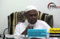 16-09-2015 Ustaz Halim Hassan: Allah Mengangkat Darjat Orang Yang Berilmu