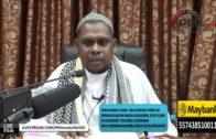 18-01-2016 Ustaz Halim Hassan: Puasa Isnin & Khamis