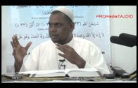 20-01-2014 Ustaz Halim Hassan: Jangan Suka Menilai Orang/ Keutamaan Solat Witir