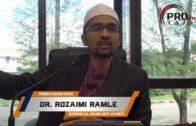 31-07-2016 Dr. Rozaimi Ramle: Mencintai Nabi Tanda Kesempurnaan Iman | Sahih Al-Bukhari