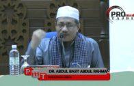 Dr. Abdul Basit Abdul Rahman: Istiqomah Mengerjaka Ibadah Selepas Ramadhan