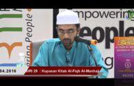 SIRI 29|| Al-Fiqh Al- Manhaji || DR ROZAIMI RAMLE