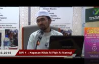 SIRI 4 || Al-Fiqh Al- Manhaji || DR ROZAIMI RAMLE