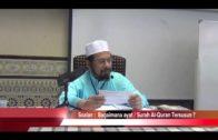 SJ Maulana Asri -Bagaimana Surah / Ayat Al-Quran Tersusun ?
