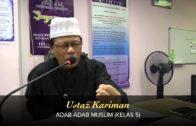 Yayasan Ta'lim: Adab-Adab Muslim [26-05-15]