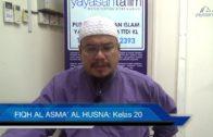 Yayasan Ta'lim: Fiqh Al-Asma' Al-Husna [28-02-17]