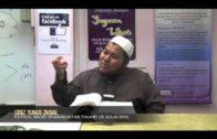Yayasan Ta'lim: Huraian Kitab Tauhid [13-07-2014]