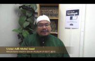 Yayasan Ta'lim: Kelas Hadith Sahih Muslim [11-09-13]