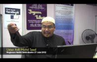 Yayasan Ta'lim: Kelas Hadith Sahih Muslim [17-07-13]