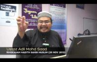 Yayasan Ta'lim: Kelas Hadith Sahih Muslim [20-11-13]