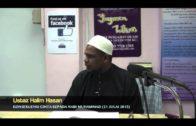 Yayasan Ta'lim: Konsekuensi Mencintai Rasulullah Bhg 1 [21-07-13]