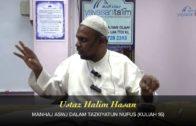 Yayasan Ta'lim: Manhaj ASWJ Dalam Tazkiyatun Nufus [12-03-16]