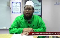 Yayasan Ta'lim: Pemantapan Aqidah ASWJ [26-04-16]
