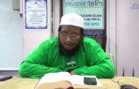 Yayasan Ta'lim: Riyadus Salihin [13-03-18]