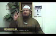 Yayasan Ta'lim: Tafsir Quran Surah At-Taubah: 36-37 [10-04-14]