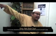 Yayasan Ta'lim: Tatacara Penerimaan Ilmu & Penghujahan Agama [25-09-13]