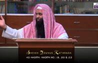 Younus Kathrada: 40 Hadith Of An-Nawawi (Hadith 18, 20 & 23) [22-08-15]