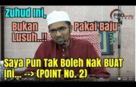Zuhud Pada Point No. 2, Dr. Rozaimi Akui Tak Boleh Nak Buat!