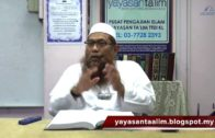 Yayasan Ta'lim: Adab-Adab Islam [05-04-18]