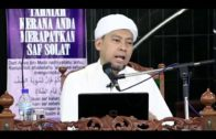 22-06-2018 Ustaz Ahmad Jailani Bin Abdul Ghani    Bab Wudhu' Tatacara Membasuh Kaki