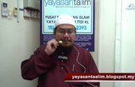 Yayasan Ta'lim: Kelas Hadith Sahih Muslim [25-04-18]