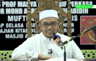 SS Dato Dr Asri-Peringatan Kpd JemaahYg Pijak2 Selipar @ Pakai Tanpa Izin Utk Mengambil Wudhu