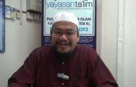 Yayasan Ta'lim Fiqh Zikir & Doa 12 09 18