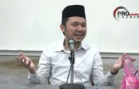 06-12-2018 Ustaz Muhammad Fahmi : Adab Dan Tempat Mustajab Doa