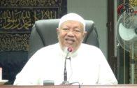 24-03-2019 Dr Radzi Othman: Bulughul Maram | Bab Thaharah – Hadith 8