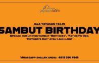 Q&A Yayasan Ta'lim: Father's Day/Mother's Day