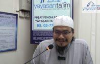 [2019.07.10] Ustaz Adli – Fiqh Al Asma' Al Husna