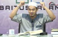 09-07-2019 Ustaz Mohamad Azraie : Syarah Shahih Muslim | Hadis Fitnah Akhir Zaman