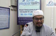 [2019.07.10] Ustaz Adli – Ringkasan Hadith Sahih Muslim
