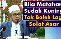 Dato' Dr MAZA ~ Waktu Mula & Tamat Solat-Solat Fardhu